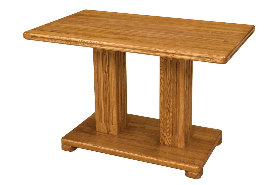 Столик на одной ножке из дерева своими руками